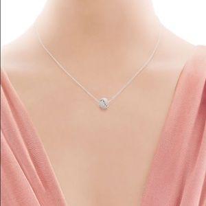 Tiffany Twisted Knot Pendant